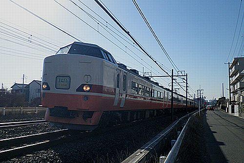 宮オオ189系「OM201」編成(2011年1月9日・土呂~東大宮間)