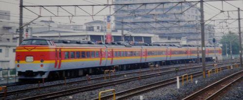 宮ヤマ189系「彩野」(2005年6月・北浦和駅)