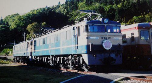 EF60 501(碓氷峠鉄道文化むら・2005年6月)