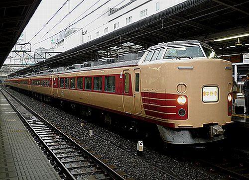 宮オオ183系「H81」編成(2011年5月11日・池袋駅)