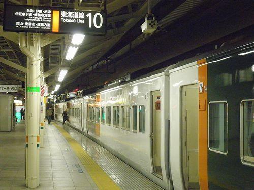 東海道本線快速「ムーンライトながら」9391M(2013年12月25日・東京駅)4