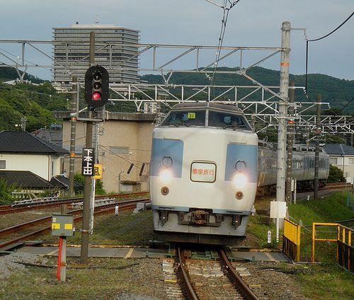 千マリ183系「31」編成(2012年6月9日・松田駅)1