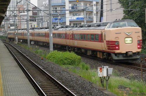 長ナノ183系「N101」編成(2013年9月8日・大久保駅)2