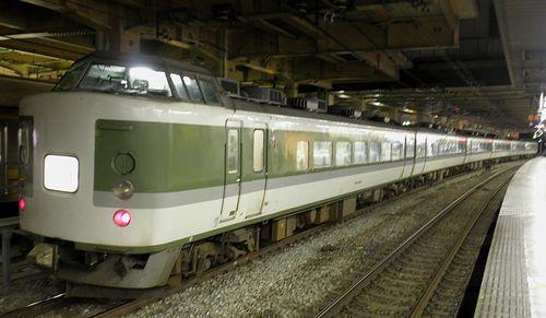 長ナノ183系「N101」編成(2010年10月11日・立川駅)
