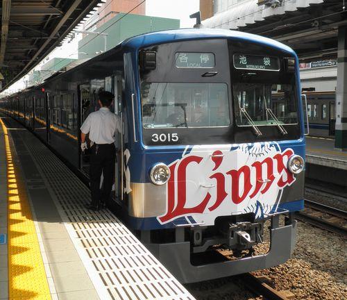 西武3000系(3015F) (2010年9月5日・練馬駅)