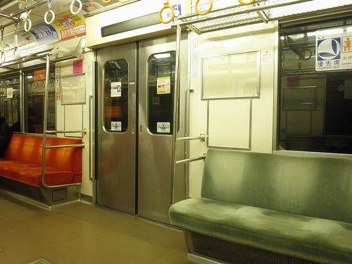 西武9000系車内(9101F・戸袋窓改造後)(2013年12月25日)