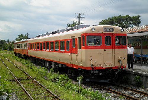 いすみ鉄道キハ28 2346+キハ52 125(2013年6月30日・国吉駅)