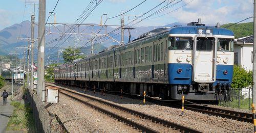 八トタ115系「M7+M4」編成(2013年5月3日・梁川~鳥沢間)