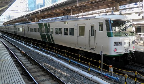 宮オオ185系「C1」編成(2014年1月7日・東京駅)