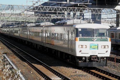 宮オオ185系「A1」編成(2014年1月16日・東十条駅)