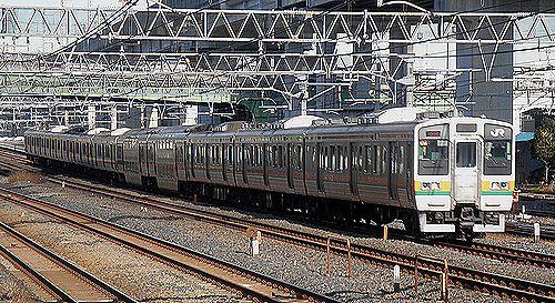 高タカ211系「C16」編成(2014年1月16日・東十条駅)
