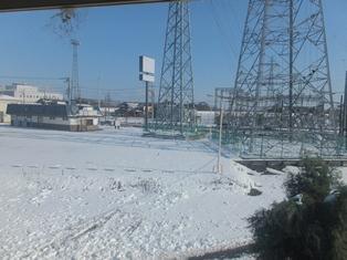 大雪だった。