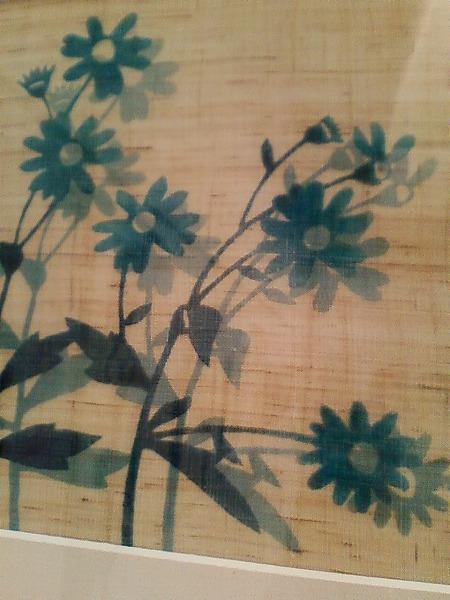型絵染野菊