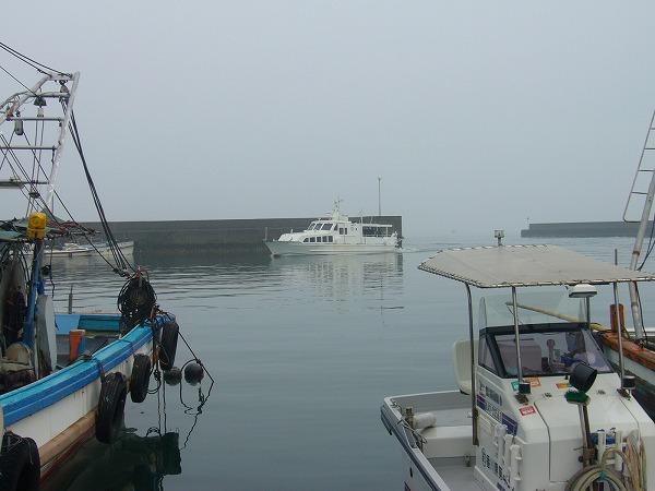 ほらね!粟島からの定期船