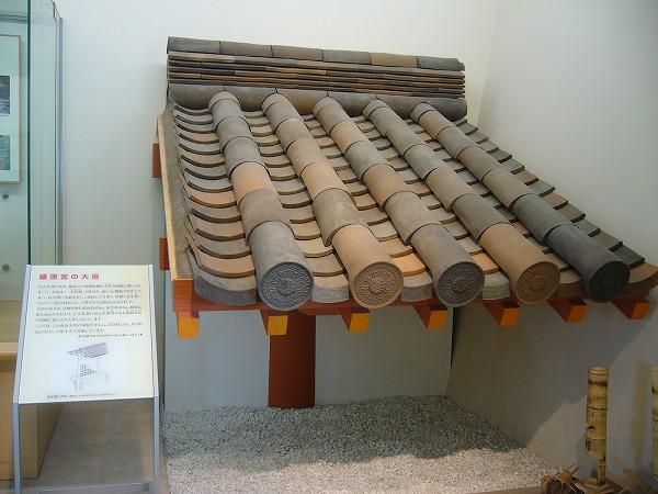古代瓦葺き