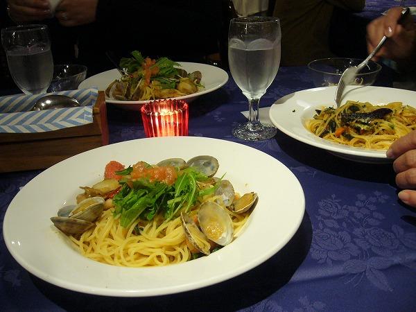 新宿駅のお店で夕食