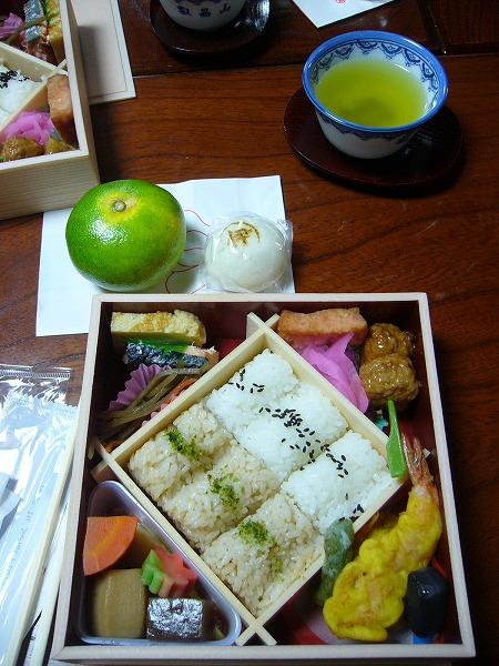 宗源寺のお弁当
