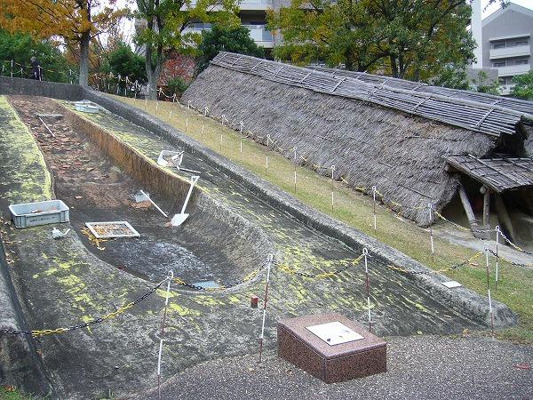 埴輪を焼いていた窯跡