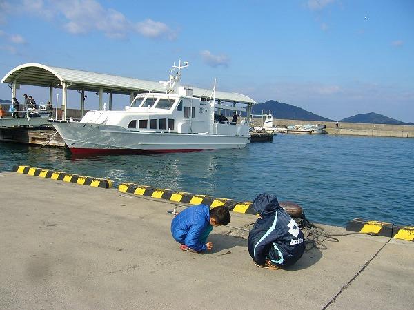 須田港定期船コチ