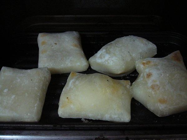 生姜餅焼き
