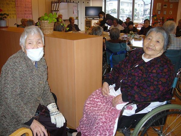 施設で母と叔母