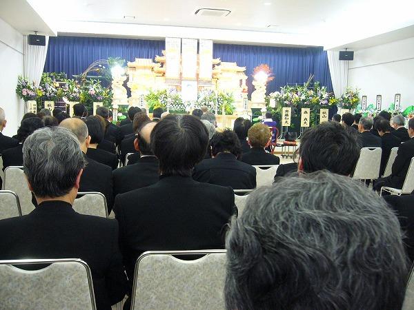 先輩のお葬式