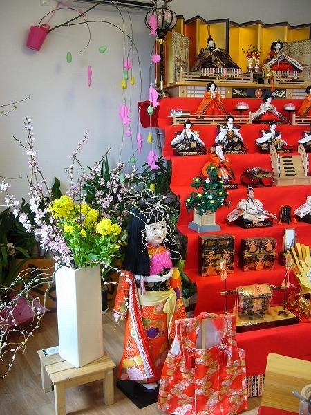 ひな祭り菜の花・桃の花