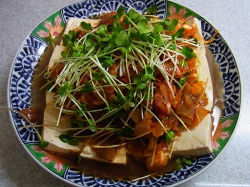 130223-222ザーサイキムチ豆腐完成(S)