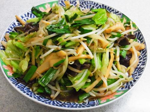 130602-221野菜とメンマの炒め(S)
