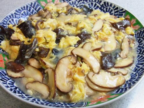130609-221玉子と木耳と椎茸の炒め(S)