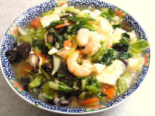 130615-221海老と豆腐と野菜のうま煮(S)