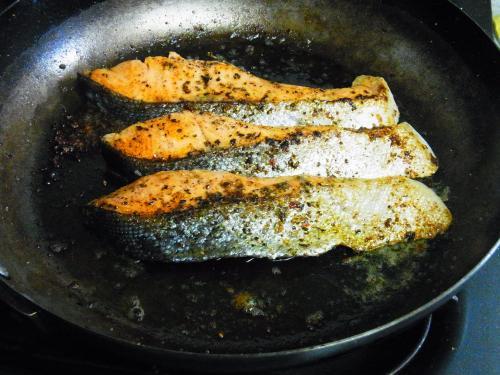 130615-211銀鮭のガーリックマーガリン焼き(S)
