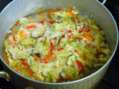 130616-221野菜と豆と玉子のスープ(S)