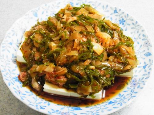 130622-221ザーサイキムチ豆腐(S)