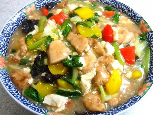 130727-211鶏肉と豆腐と野菜のうま煮(S)