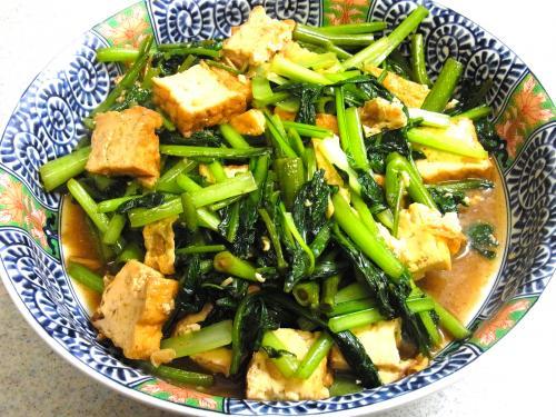 130728-221青菜と厚揚げの炒め(S)