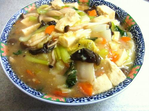 130811-221野菜と豆腐のうま煮(S)