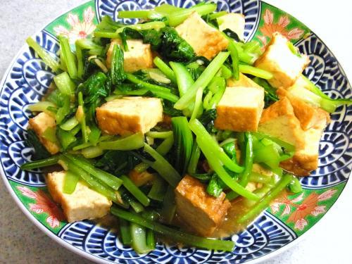 130818-231厚揚げと青菜の炒め(S)