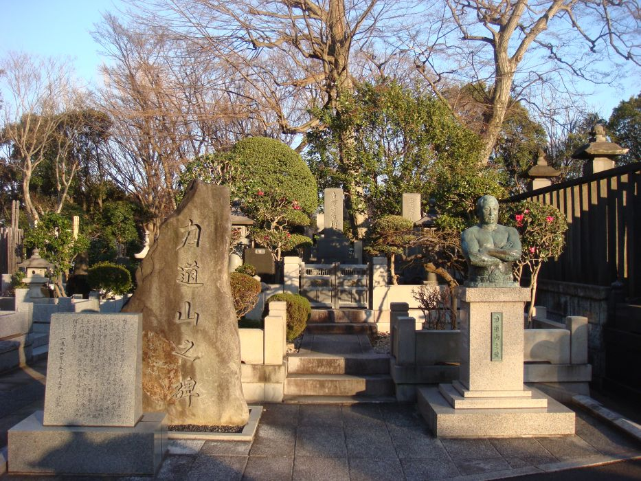 池上本門寺 力道山の墓所