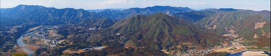 冠岳(日の丸の旗展望台)