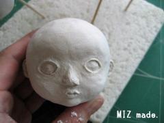 顔の造作途中