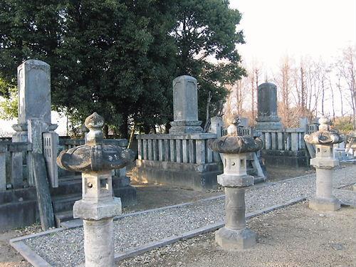 松平氏の墓