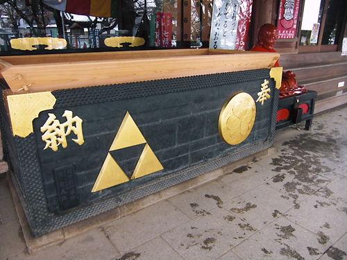 蓮馨寺賽銭箱