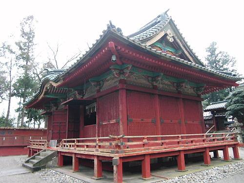 世良田東照宮拝殿