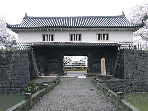 新発田表門 (2)