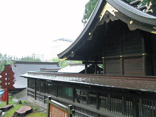 桜山神社本殿