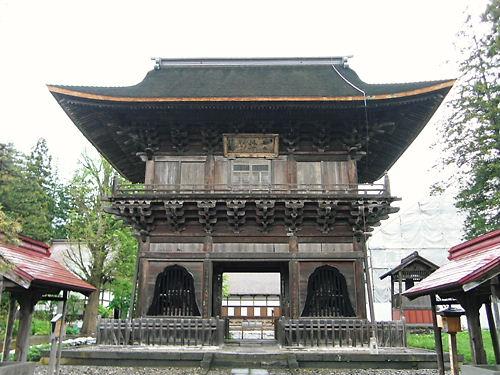 長勝寺三門 (2)
