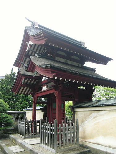 誓願寺山門 (2)