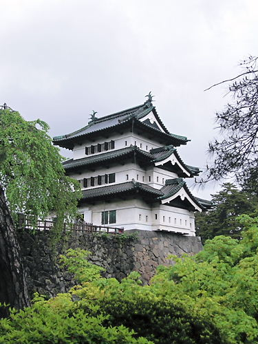 弘前城天守 (2)