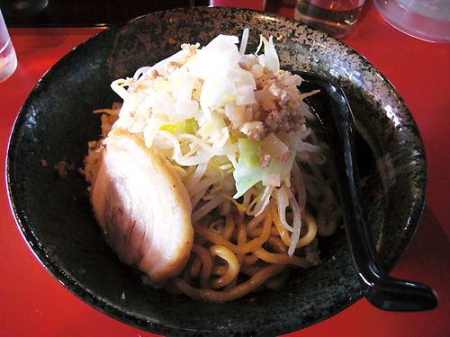 唯桜の汁なし坦坦麺